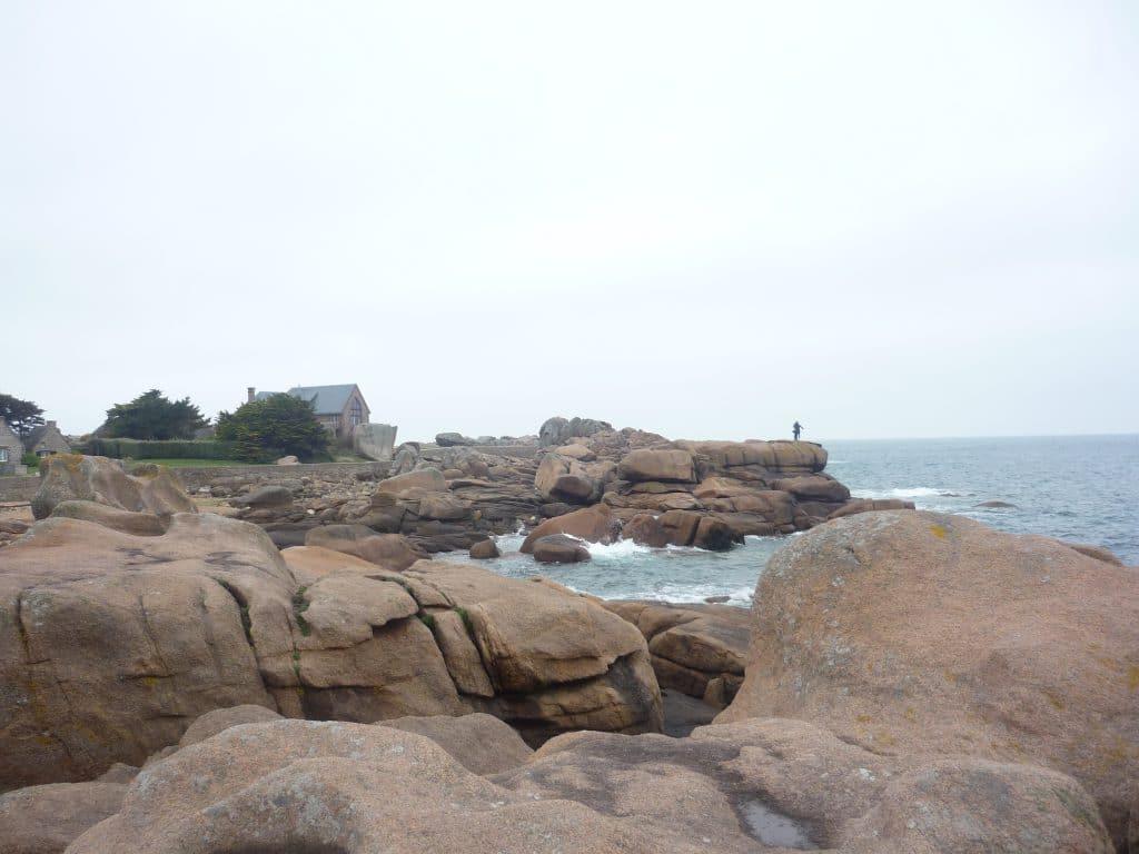 Trégastel rocks